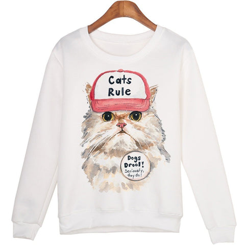 Cat's Rule Sweatshirt