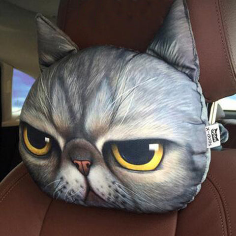 Cat Car Headrest