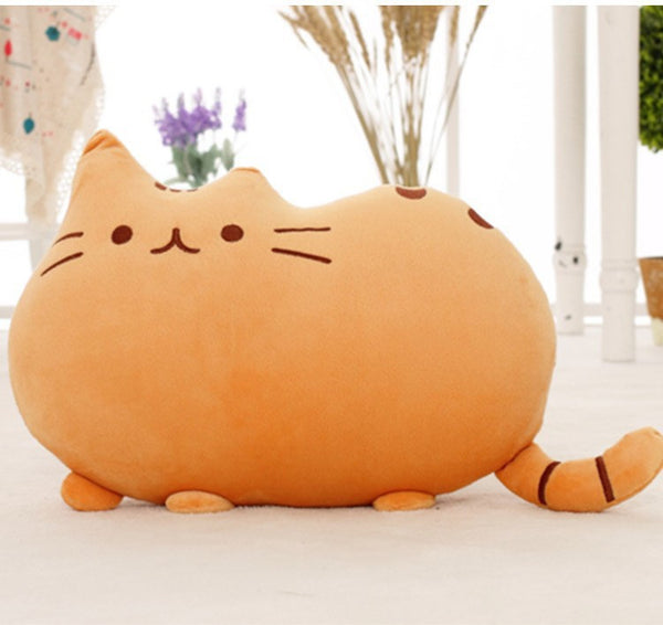 Stuffed Cat Pillow