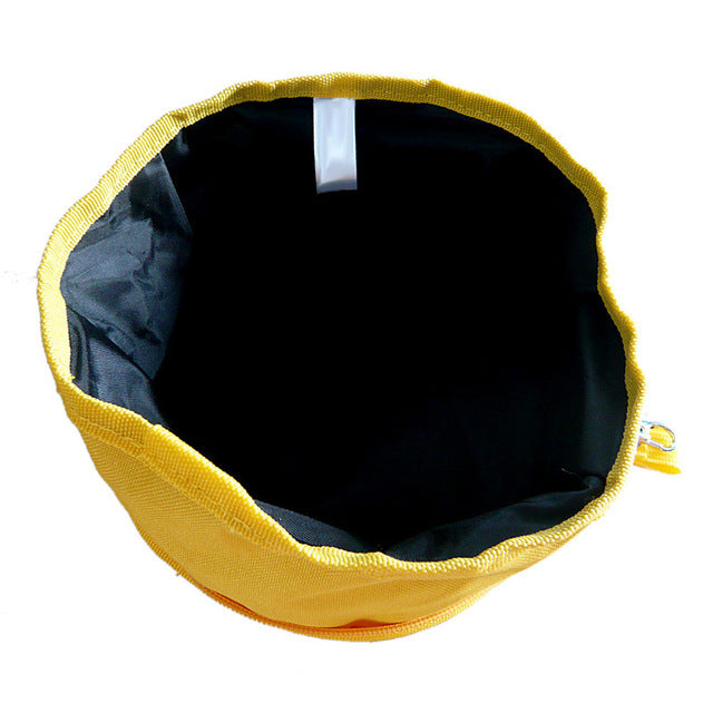 Collapsible Cloth Waterproof Food Bowl