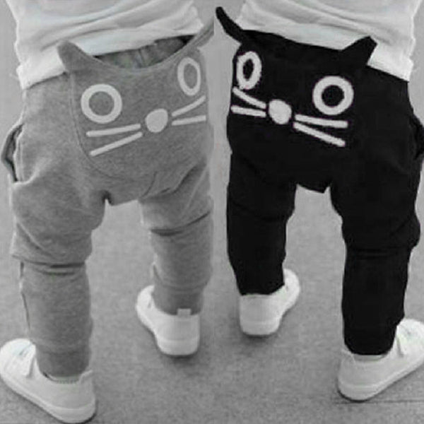 Baby Boys and Girls Cat Long Trousers