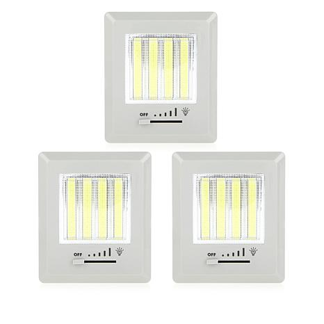 QBeam 3-pack Ultra Bright Dimmable LED Lights