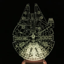 Millennium Falcon Star Wars Table Lamp