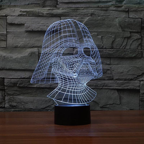 Star Wars 3D Darth Vader USB Table Lamp