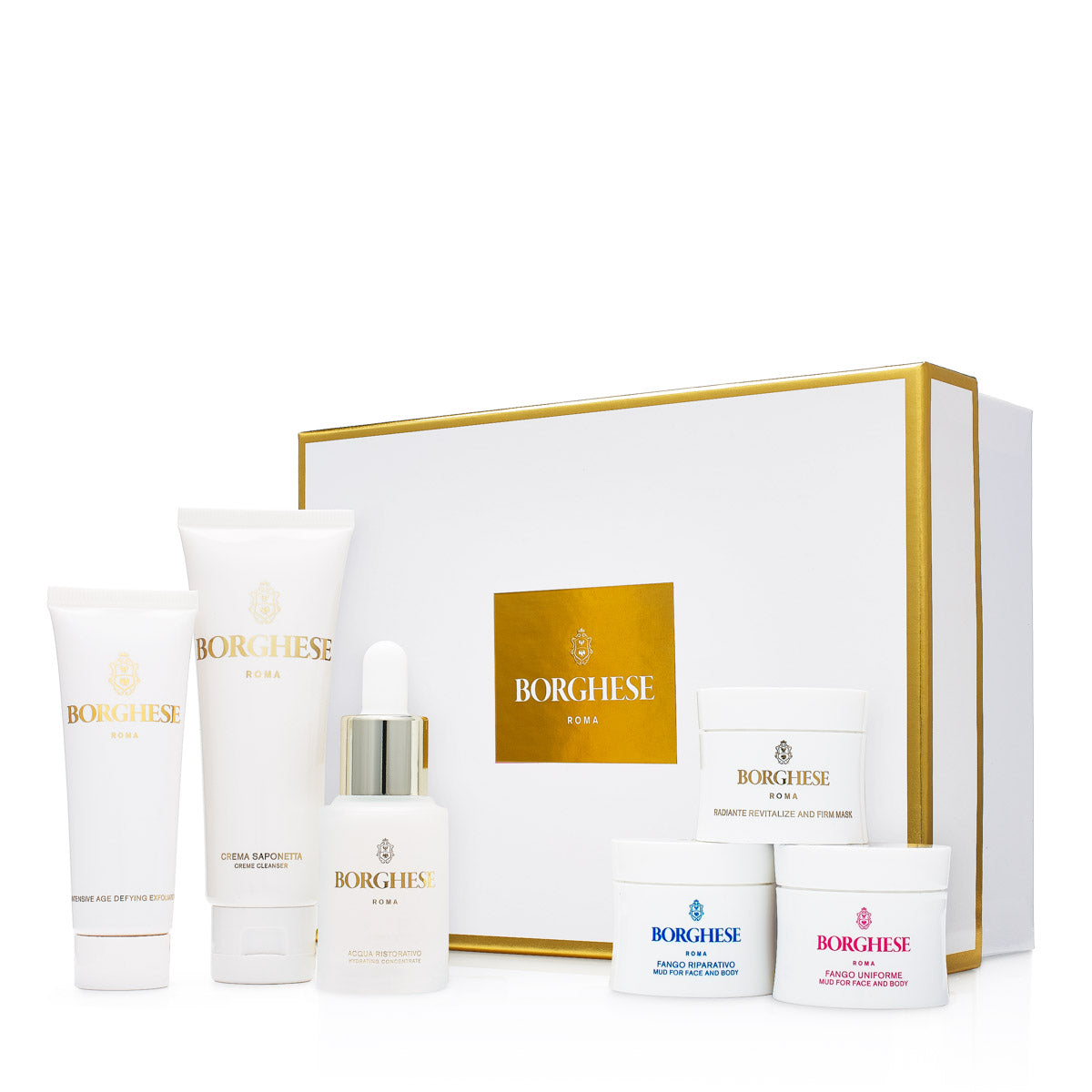 6-Piece Borghese Skin Care Travel Kit
