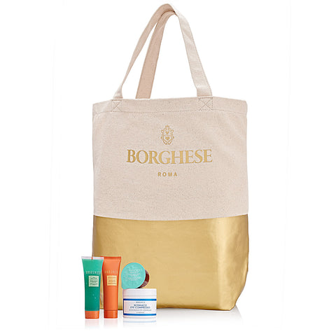 Cleanse + Soothe Set with Tote