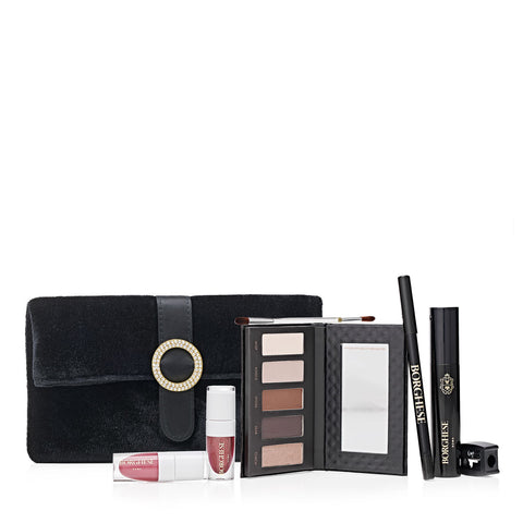 8 Piece Glam Makeup & Clutch Set