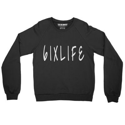 6IXLIFE Sweater (Black) - Teedot Apparel