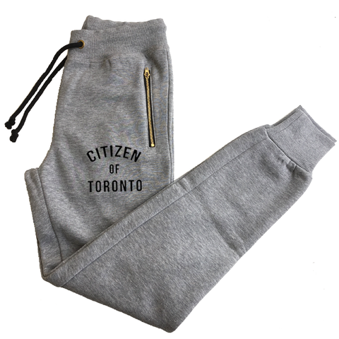 Citizen of Toronto Joggers Gray