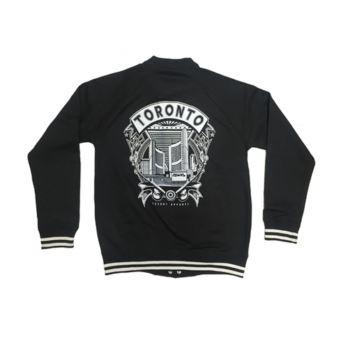 City Hall Varsity Jacket - Teedot Apparel