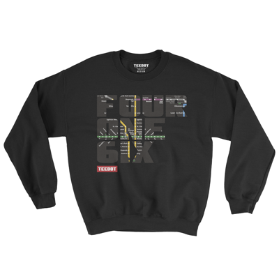 Subway Sweater (Black)