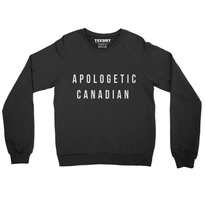 Apologetic Canadian Sweater - Teedot Apparel
