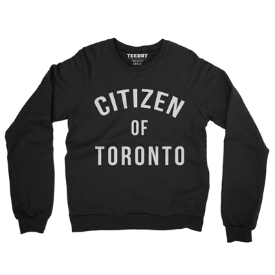 Citizen Of Toronto Sweater (Black) - Teedot Apparel