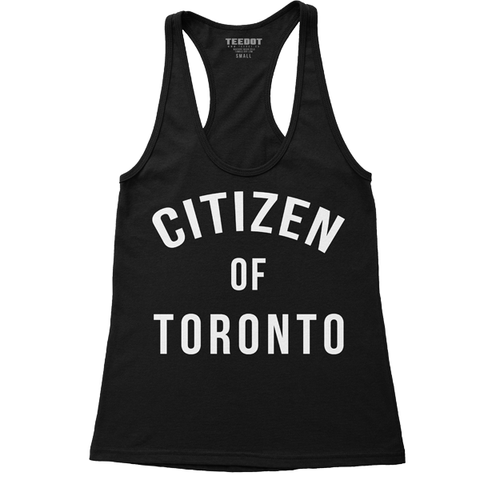 Women's Citizen of Toronto Racerback - Teedot Apparel