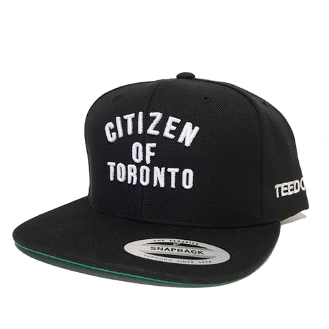 Citizen of Toronto Snapback Black - Teedot Apparel