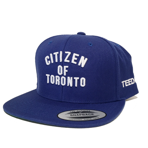 Citizen of Toronto Snapback Blue - Teedot Apparel