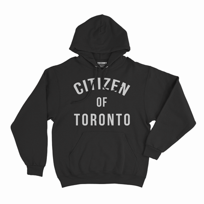 Citizen of Toronto Hoodie Black