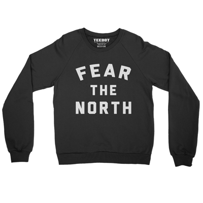 Fear The North Sweater - Teedot Apparel