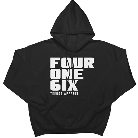 Four One 6ix Hoodie - Teedot Apparel