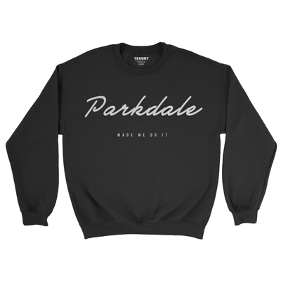 Parkdale made me do it sweater