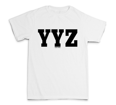 YYZ Shirt (white) - Teedot Apparel