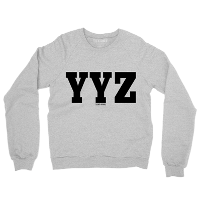 YYZ Sweater (Ash Gray) - Teedot Apparel