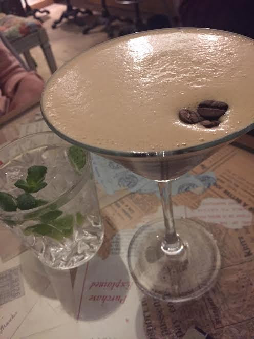 A break from the norm; and the art of making a perfect Espresso Martini