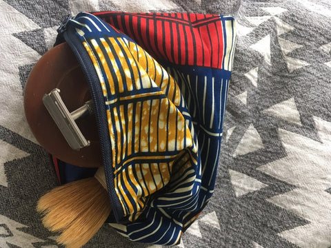 Washbag (African stripe)