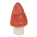 Orange toadstool night light