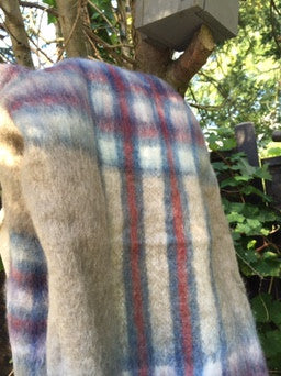 Highland check blanket