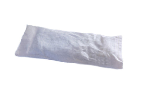 Lavender eye pillow (Grey Linen)