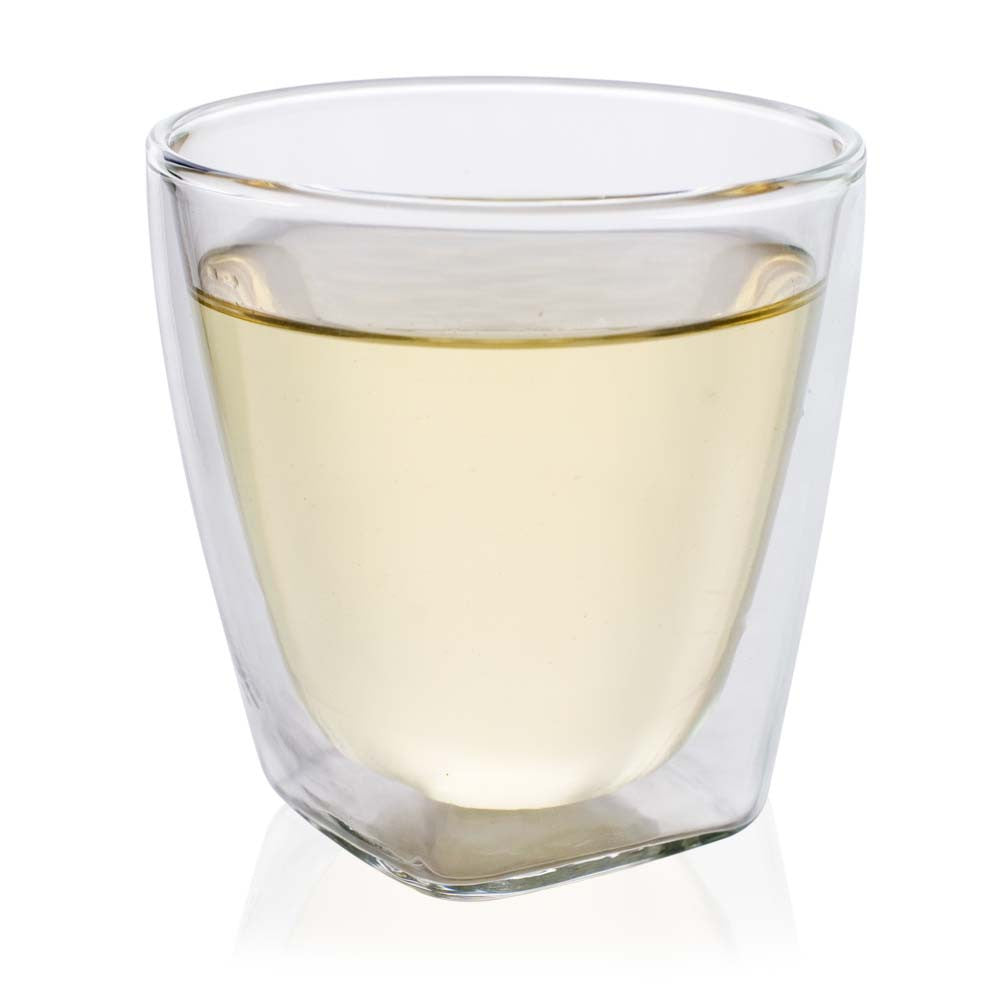 Double wall large glass cup