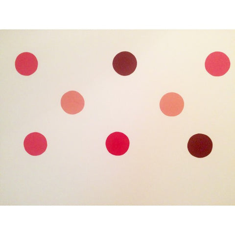 Dot wall stickers