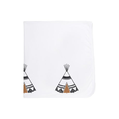 Organic Cotton Baby Blanket-Tepee