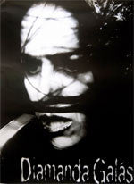 DIAMANDA GALÁS BLACK & WHITE POSTER