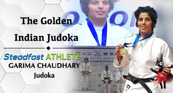 GARIMA - THE GOLDEN INDIAN JUDOKA