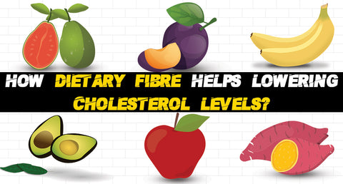 HOW DIETARY FIBRE HELPS LOWER CHOLESTEROL LEVELS?