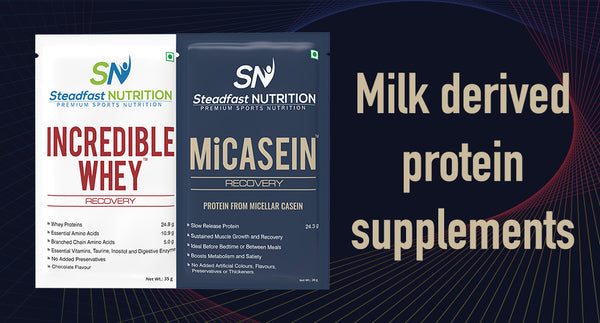 MILK DERIVED PROTEIN SUPPLEMENTS