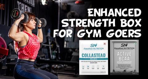 ENHANCED STRENGTH BOX FOR GYM GOERS