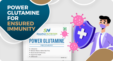 POWER GLUTAMINE AND IMMUNE HEALTH