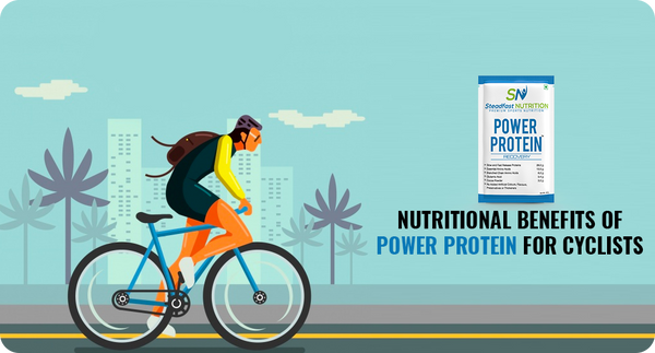 NUTRITIONAL BENEFITS OF POWER PROTEIN FOR CYCLISTS