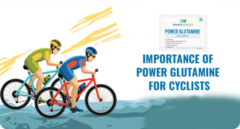 IMPORTANCE OF POWER GLUTAMINE FOR CYCLISTS