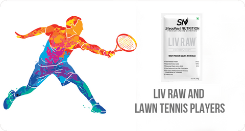 LIV RAW AND LAWN TENNIS PLAYERS