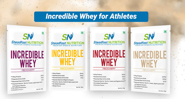 INCREDIBLE WHEY FOR ATHLETES
