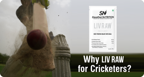 WHY LIV RAW FOR CRICKETERS?