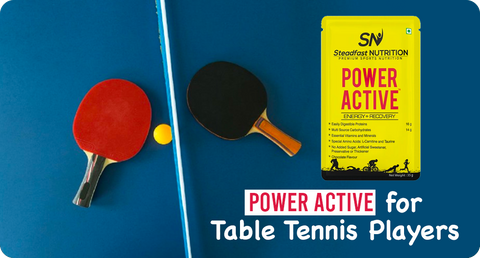 HOW DOES POWER ACTIVE WORK FOR TABLE TENNIS PLAYERS?