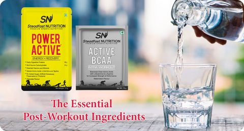 THE ESSENTIAL POST-WORKOUT INGREDIENTS