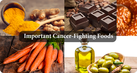 IMPORTANT CANCER-FIGHTING FOODS