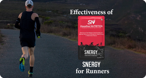 EFFECTIVENESS OF SNERGY FOR RUNNERS
