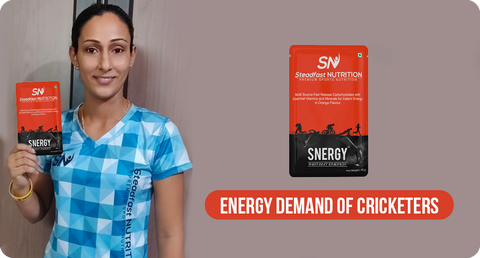 ENERGY DEMAND OF CRICKETERS